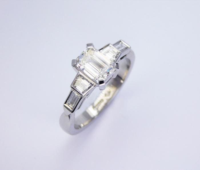 Platinum And Palladium Rings Together