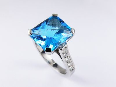 Topaz Cocktail Ring