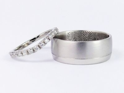 Personalised Wedding Rings